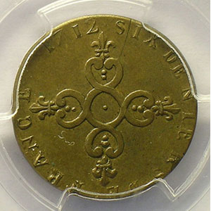 1712 N (Montpellier)    PCGS-MS62    SUP/FDC