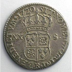 1720 B  (Rouen)    TTB+/SUP