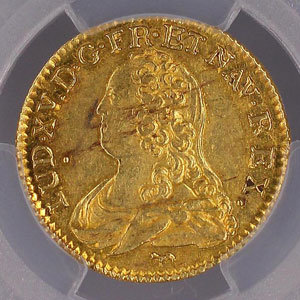 1733 A  (Paris)    PCGS-AU58    SUP
