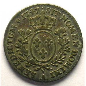 1747 A  1er sem.  (Paris)    TTB