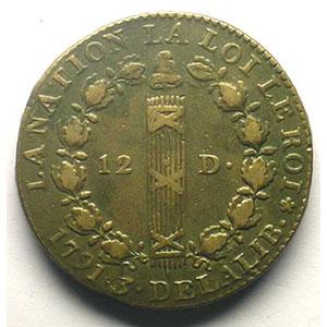 1791 A  (Paris)    TTB