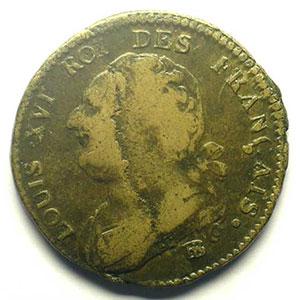 1791 BB  (Strasbourg)    B/TB
