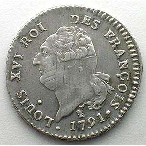 1791 I  (Limoges)  2° sem.    TTB+