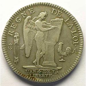 1792 A  1er sem.  (Paris)    TTB