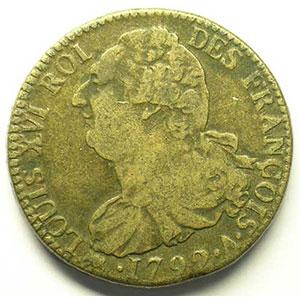 1792 A  (Paris)    TB+