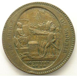 1792  An IV   bronze    TB/TB+