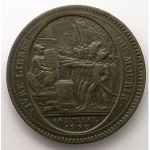 1792  An IV   bronze    TB+/TTB