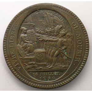 1792  An IV   bronze    TTB