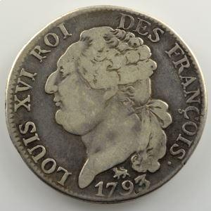 1793 A  (Paris)  2° sem.   An 5/4    B/TB