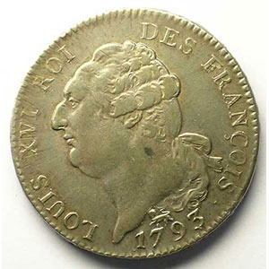 1793 A  (Paris)    TTB/TTB+
