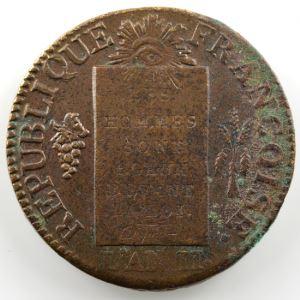 1793 AA  (Metz)    TTB