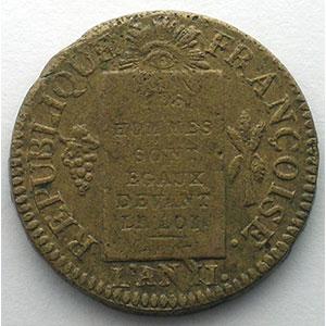 1793 BB  (Strasbourg)    TTB/TTB+