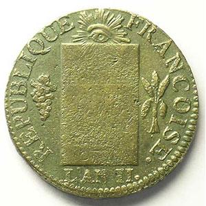 1793 D  (Lyon)    TB+