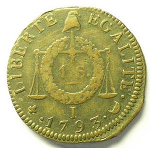 1793 I  (Limoges)    TB+