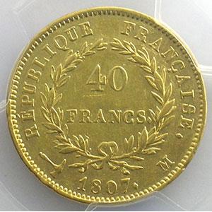 1807 M  (Toulouse)    PCGS-AU53    TTB+