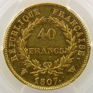 1807 W  (Lille)    PCGS-AU53    TTB+