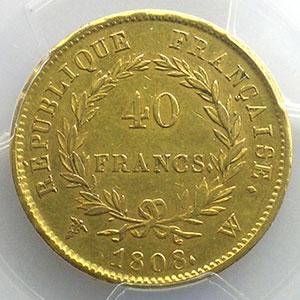 1808 W  (Lille)    PCGS-AU53    TTB+