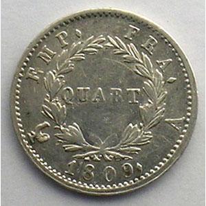 1809 A  (Paris)    TB+/TTB
