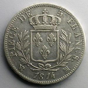 1814 MA  (Marseille)    TTB/TTB+