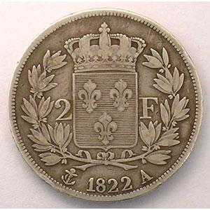 1822 A  (Paris)    TB