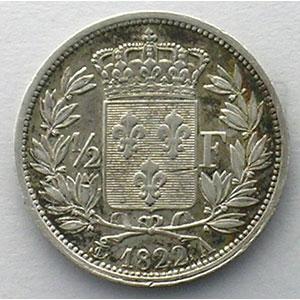 1822 A  (Paris)    TTB