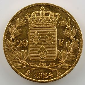 1824 A  (Paris)    TTB+/SUP