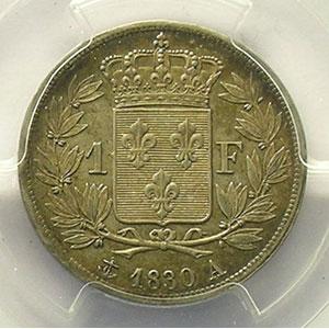 1830 A  (Paris)    PCGS-MS61    SUP/FDC