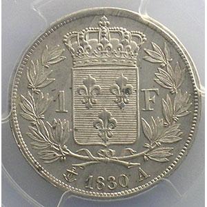 1830 A  (Paris)    PCGS-MS63    SUP/FDC