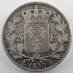 1830 A  (Paris)   tranche en relief    TB+