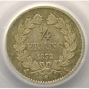 1832 A  (Paris)    PCGS-MS64    pr.FDC