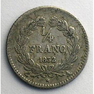 1832 A  (Paris)    TTB