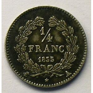1835 A  (Paris)    TTB+/SUP