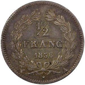 1836 A  (Paris)    PCGS-MS61    SUP/FDC