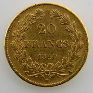 1840 A  (Paris)    TTB/TTB+