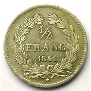 1841 A  (Paris)    TTB+