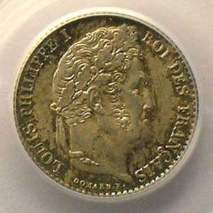 1841 B  (Rouen)    PCGS-MS64    pr.FDC