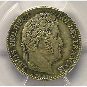 1847 A  (Paris)    PCGS-MS63    SUP/FDC