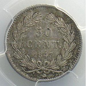 1847 BB  (Strasbourg)    PCGS-MS62    SUP/FDC