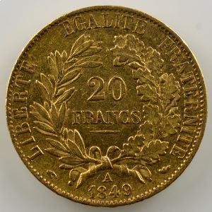 1849 A  (Paris)    TTB