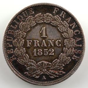 1852 A  (Paris)    TTB+