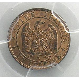 1853 A  (Paris)    PCGS-MS65RB    FDC