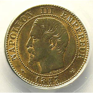 1853 W  (Lille)    PCGS-MS64RB    pr.FDC