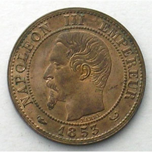1853 W  (Lille)    SUP/FDC