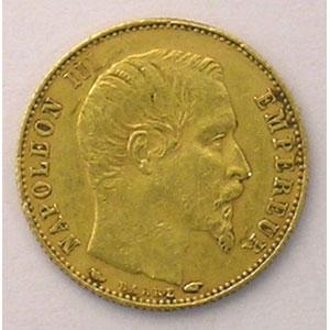 1855 A (Paris)  tranche cannelée    TTB