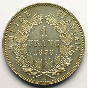 1858 A  (Paris)    SUP/FDC