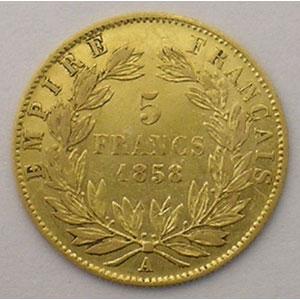 1858 A  (Paris)    TB+/TTB
