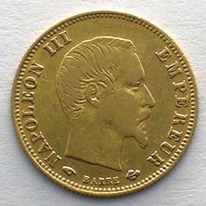 1859 A  (Paris)    TB+/TTB