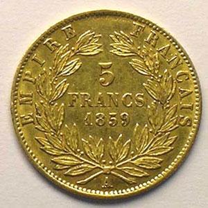 1859 A  (Paris)    TTB/TTB+