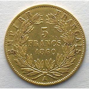 1860 A main  (Paris)    TB+/TTB