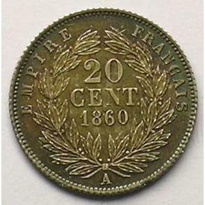1860 A  (Paris)    FDC